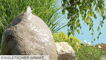 eisgletscher granit quellsteinbrunnen revisage. Black Bedroom Furniture Sets. Home Design Ideas