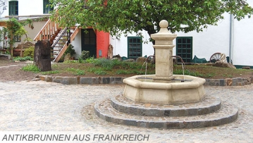 Franzoesische Antikbrunnen