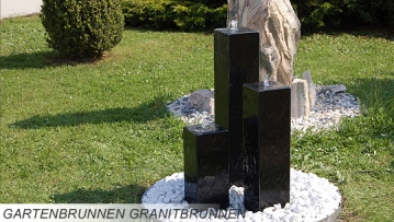granitbrunnen zimmerbrunnen gartenbrunnen wasserwand. Black Bedroom Furniture Sets. Home Design Ideas