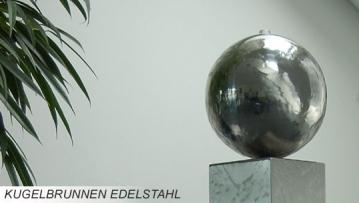 Edelstahl Kugelbrunnen