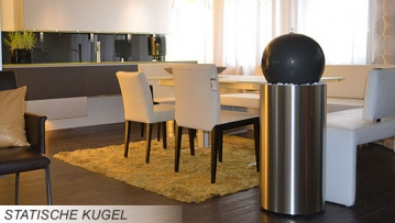 kugelbrunnen mit statischer kugel revisage. Black Bedroom Furniture Sets. Home Design Ideas