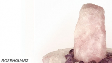 rosenquarz zimmerbrunnen edelsteinbrunnen aus rosenquarz revisage. Black Bedroom Furniture Sets. Home Design Ideas