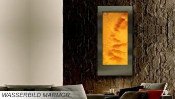 Marmorbrunnen Wasserbild Wandbrunnen aus Marmor