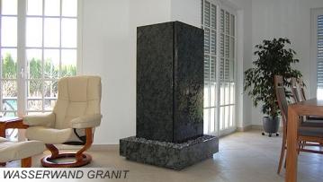 Wasserwand Granit