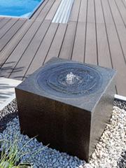 edelstahl-gartenbrunnen und granitbrunnen online-shop - revisage, Garten und Bauen