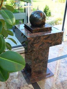 Granit Kugelbrunnen Sphere 1