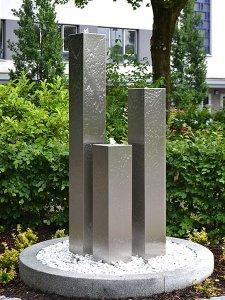 Edelstahl gartenbrunnen hamburg 3er set 200s25 revisage - Gartenbrunnen hamburg ...