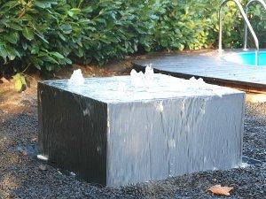 download gartenbrunnen quader | lyfa, Gartenarbeit ideen