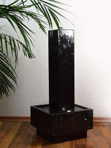 Zimmerbrunnen wassers ule granit neros 80 revisage - Naturstein zimmerbrunnen ...