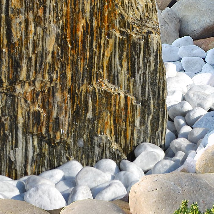 quellstein brunnen set woodstone 100 naturstein gartenbrunnen revisage. Black Bedroom Furniture Sets. Home Design Ideas