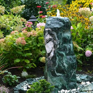 Quellstein Brunnen Set Lappland Green 120