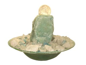 Sandstone fountain Yaka LED